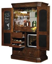 confortable bar armoire cabinet about bar cabinet good idea place cut mirror in back of cabinet