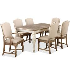 Rectangular Leg Dining Table With  Leaf By Riverside Furniture - Dining room sets tampa