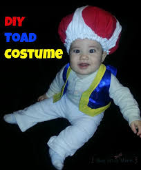 DIY Toad Costume For Infant Or Toddler! | Cosplay | Toad Costume, Baby  Halloween Costumes, Diy Baby Costumes