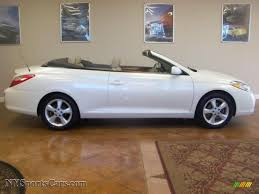 2007 Toyota Solara SLE V6 Convertible in Blizzard White Pearl ...