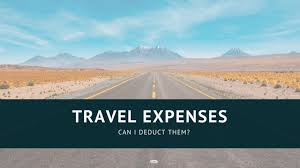 travel expenses are they deductible on
