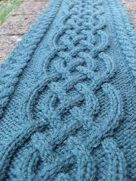 Cable Knit Scarf Pattern Beauteous Celtic Cable Scarf Pattern By Vanessa Lewis Knit Crochet