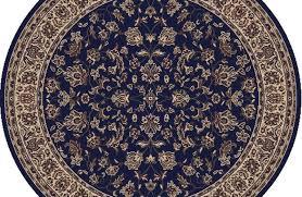 round persian rugs fresh 5 round radici blue persian fl border 953 area rug