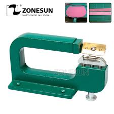 aliexpress com zonesun handmade leather edge strips strap skiving cutting processing splitting machine l tool from reliable tool tool suppliers on