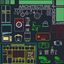 Autocad Kitchen Design Blocks