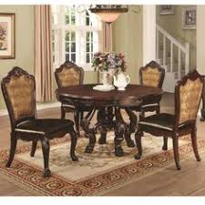 coaster benbrook dining table and chair set with 4 side chairs coaster fine furniture