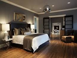Bedroom:Stylish Gray Mens Bedroom With Sliding Glass Door Also White Top  Moldings Stylish Gray