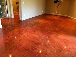 concrete polishing stained polished cement floors diy