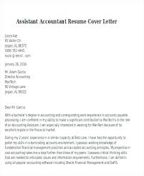 Accounts Assistant Cover Letters Cover Letter For Accounting Assistant Stanmartin