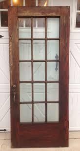 exterior antique oak french door with