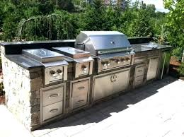 Modular Kitchen Grill Design