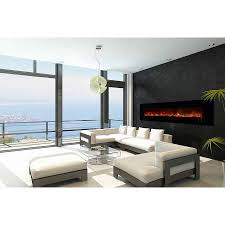 al100clx2 g electric fireplace modern flames