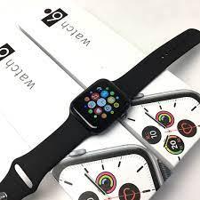 Đồng Hồ Thông Minh Watch 6 Kết Nối Bluetooth Nghe Gọi Zalo Messenger Báo  Tin Nhắn Gmail (Viền Nhôm & Dây Cao Su) - hàng nhập khẩu - Màu Đen -4376- -