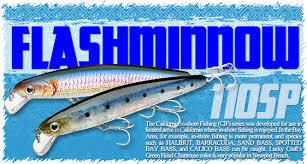 Lucky Craft Salt Water Lure Item List Cif Flashminnow 110sp