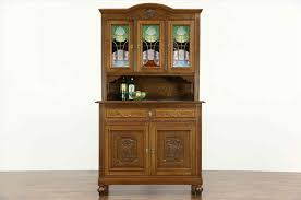 decorative antique stained glass cabinet doors patterend new internal in edwardian and victorian new