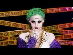 joker squad makeup tutorial