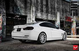 bmw 2015 5 series white. alpine white bmw 4 series coupe with vossen wheels bmw 2015 5
