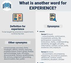 Synonyms For Experience Antonyms For Experience Thesaurus Net
