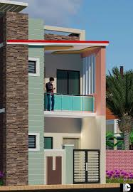 Elevation Designs For G 1 In Hyderabad G 1 Elevation House Design Modern House Design House Front