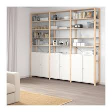 ivar 3 sections cabinet shelves