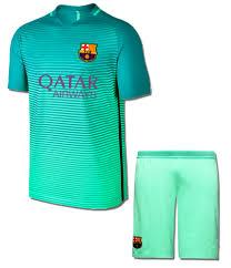 Adul 3rd – Away amp; East Kit Barcelona American Llc Soccer Jersey Green Uniform Sports Shorts Third