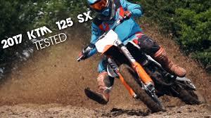 motocross tested 2017 ktm 125 sx youtube