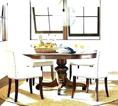 rug under dining table round rectangle on carpet room ideas oval kitchen tables for beautiful images