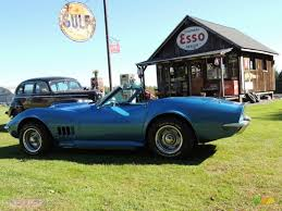 1968 LeMans Blue Chevrolet Corvette Convertible #86069594 ...