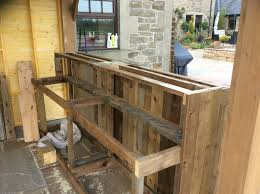 Diy Outdoor Kitchen Frames Outdoor Kitchen Recycled Diy Pallet Bar The Dog House Pallet