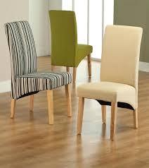 fabric dining room chairs impressive striped fabric dining chair with regard to striped dining chairs por
