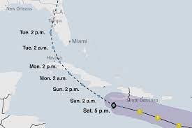 Map: Tracking Hurricane Elsa's Path ...