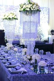 best ing acrylic table top chandelier centerpieces crystal for wedding batman party supplies