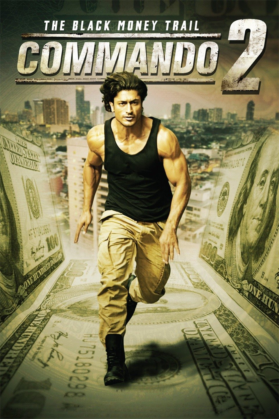 Commando 2 (2017) Hindi 350MB DVDRip 480p