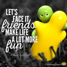 Christian Quotes About Friends Best of Chuck Swindoll Quote True Friends Make The Journey Of Life More