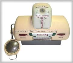 pillow radio. pillow speaker radio 4130-d; dahlberg company; (id \u003d 490867) h