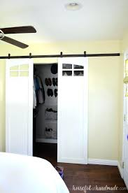closet slide door these fixer upper inspired farmhouse barn doors are gorgeous i love the windows