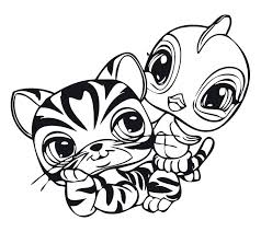 Coloring Littlest Pet Shop Free Coloring Pages Pictures Of My