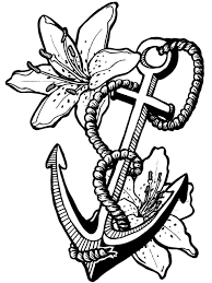 anchor coloring sheets