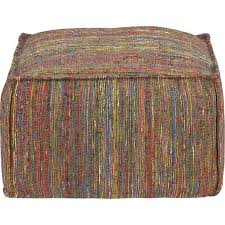 Pouf Ottoman Crate And Barrel