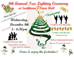 Babylon Christmas Tree Lighting Smithtowns 4th Annual Tree Lighting Ceremony Long Island