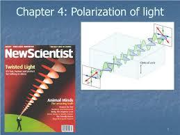 Polarization Of Light Physics Ppt Ppt Chapter 4 Polarization Of Light Powerpoint