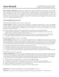 Finance Resume Sample Sample Professional Resume