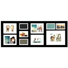 6 opening picture frame 4x6 picture frame with 4 openings long black opening collage frame a a