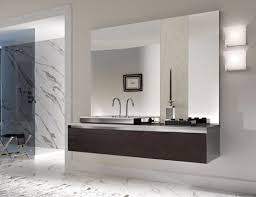 Frameless Bathroom Mirror Pretentious Design Frameless Bathroom Mirror Large Home Design