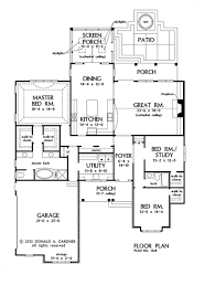 PLAN OF THE WEEK  The Bosworth     House plans  Floor Plans    First Floor Plan of The Bosworth House Plan