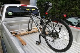 above truck bed bike rack pvc bike rack plans yakima truck bed bike rack saris traps