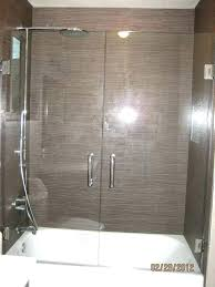 hinged shower door replacement swing latest glass doors over tub with double