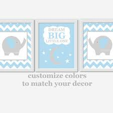 >baby boy nursery wall art blue gray from dezignerheartdesigns on baby boy nursery wall art blue gray elephant dream big boy room wall decor nursery elephant