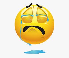 Crying Emoji Png Image Hd Sad Emoticons 168143 Free