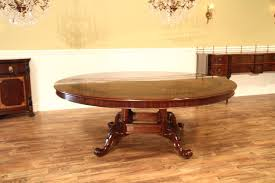 imperfect special d 84 in round mahogany dining table